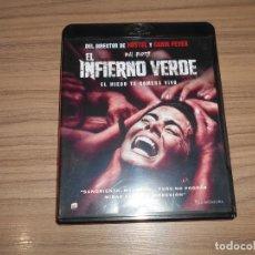 Cine: EL INFIERNO VERDE TERROR BLU-RAY DISC COMO NUEVO. Lote 152445846