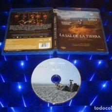 Cine: LA SAL DE LA TIERRA (THE SALT OF THE EARTH) - BLU-RAY - 1778 - CAMEO - UN VIAJE CON SEBASTIAO SLGADO. Lote 152919894