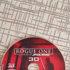 Cine: ROGUE ONE UNA HISTORIA DE STAR WARS BLU-RAY 3D SOLO DISCO SIN CAJA NI CARATULA. Lote 172838628