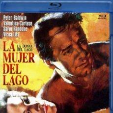 Cine: LA MUJER DEL LAGO (BLU-RAY DISC BD ORIGINAL PRECINTADO) VIRNA LISI - TERROR GIALLO DE CULTO. Lote 195180930