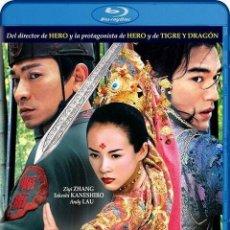 Cine: LA CASA DE LAS DAGAS VOLADORAS BLU RAY ZHANG YIMOU (TAKESHI KANESHIRO Y ZHANG ZIYI). Lote 153712050