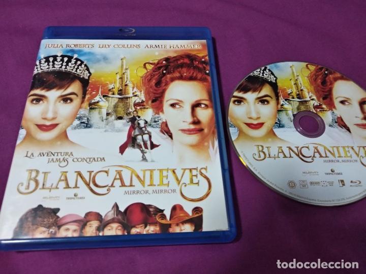 LA AVENTURA JAMÁS CONTADA BLANCANIEVES MIRAR,MIRROR BLU-RAY JULIA ROBERTS LOLYCOLLINS ARMIE HAMMER (Cine - Películas - Blu-Ray Disc)