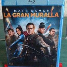 Cine: LA GRAN MURALLA EN BLU RAY // PROMOCIÓN EN LOS ENVÍOS. LEER DESCRIPCIÓN. Lote 154286210