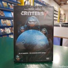 Cine: ( RESEN ) CRITTERS 4 - DVD NUEVO PRECINTADO. Lote 156057230