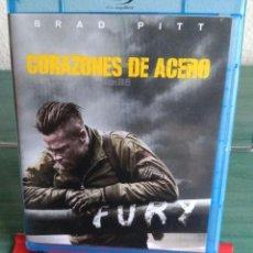 Cine: CORAZONES DE ACERO (FURY) EN BLU RAY // PROMOCIÓN EN LOS ENVÍOS. LEER DESCRIPCIÓN. Lote 154321906