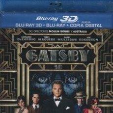 Cine: EL GRAN GATSBY (BLU-RAY - BLU-RAY 3D - COPIA DIGITAL) DIRECTOR: BAZ LUHRMANN. Lote 154322622