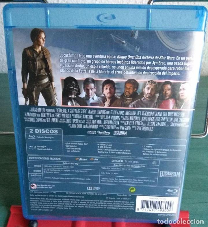 Cine: Rogue one una historia de Star Wars blu ray 2 discos // Promoción envíos en la descripción - Foto 2 - 154673810
