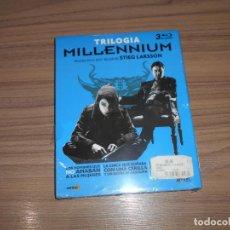 Cine: TRILOGIA MILLENNIUM 3 BLU-RAY DISC LA CHICA CERILLA - REINA PALACIO , ETC.. PRECINTADO STIEG LARSSON. Lote 154777906