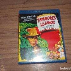 Cine: TAMBORES LEJANOS BLU-RAY DISC GARY COOPER NUEVO PRECINTADO. Lote 243549130