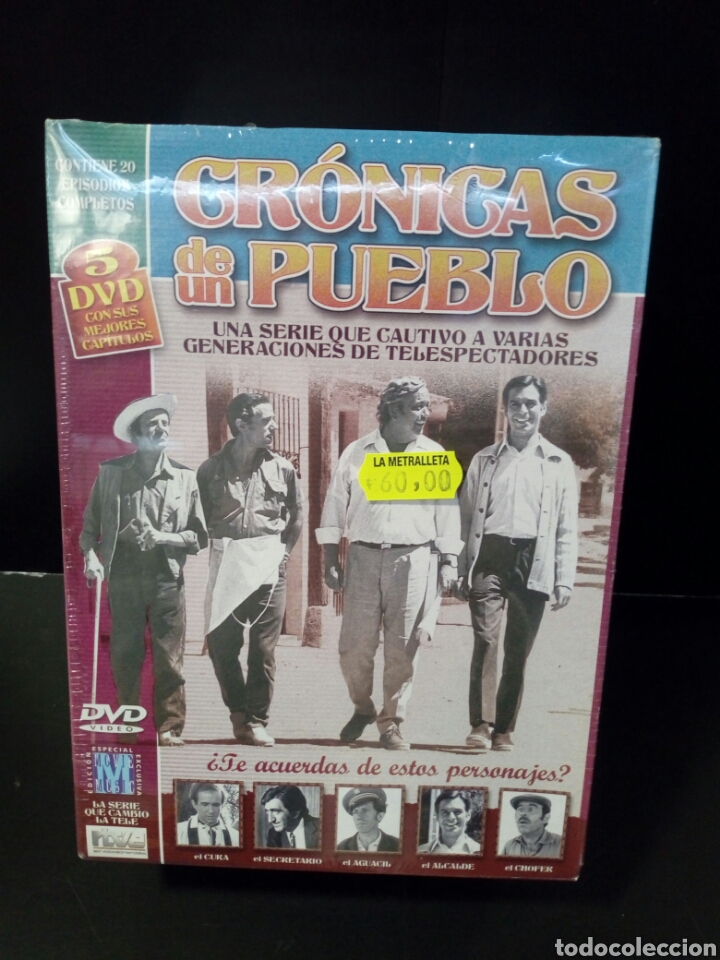 CRÓNICAS DE UN PUEBLO DVD (Cine - Películas - Blu-Ray Disc)