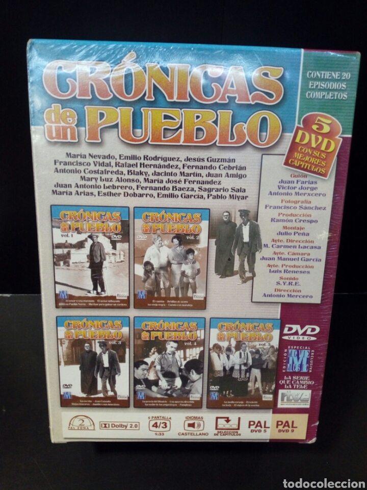Cine: Crónicas de un pueblo DVD - Foto 2 - 155143129