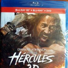 Cine: HÉRCULES 2014 (BLU RAY 3D+BLU RAY+DVD) INCLUYE VERSIÓN EXTENDIDA. Lote 155794841