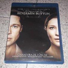 Cine: EL CURIOSO CASO DE BENJAMIN BUTTON ( EDICIÓN 2 BLU-RAY) BRAD PITT. Lote 156526830