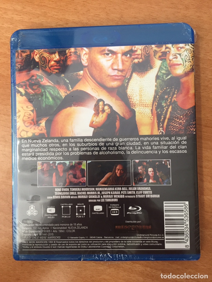 Cine: (B16) Guerreros de antaño - Blu-Ray Nuevo precintado - Foto 2 - 156964368