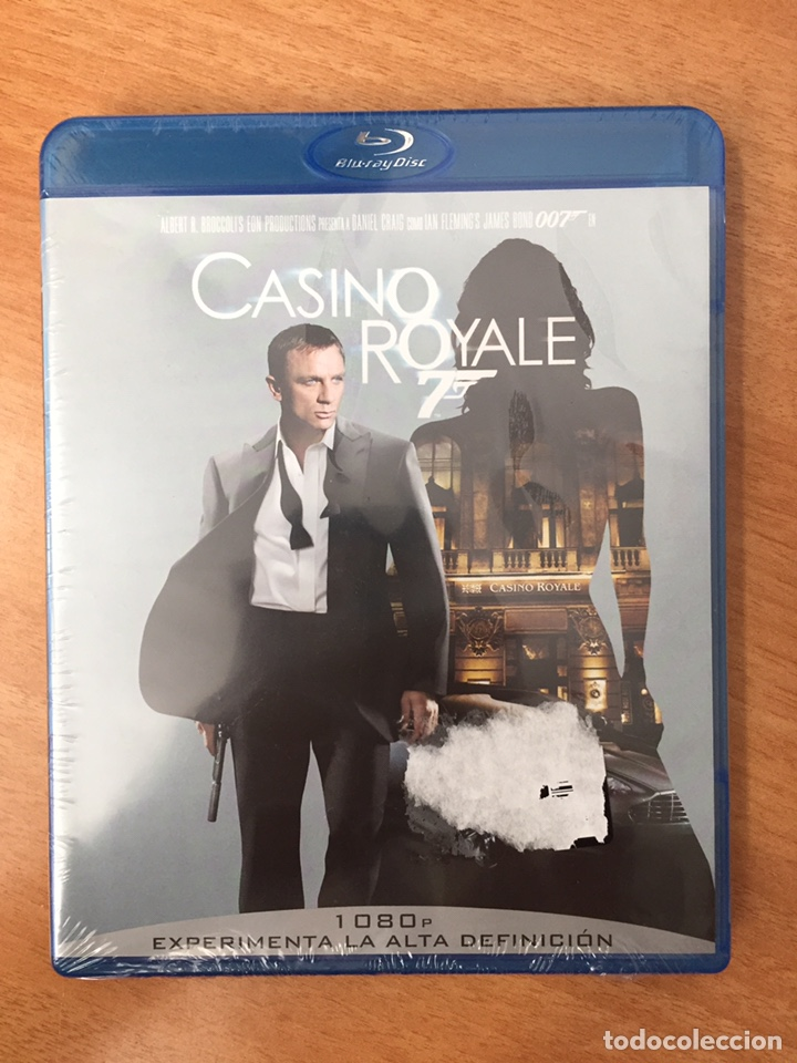 (B16) CASINO ROYALE - BLU-RAY NUEVO PRECINTADO (Cine - Películas - Blu-Ray Disc)