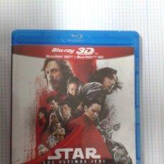 Cine: STAR WARS: LOS ÚLTIMOS JEDI. BLU RAY 3D. Lote 156981914