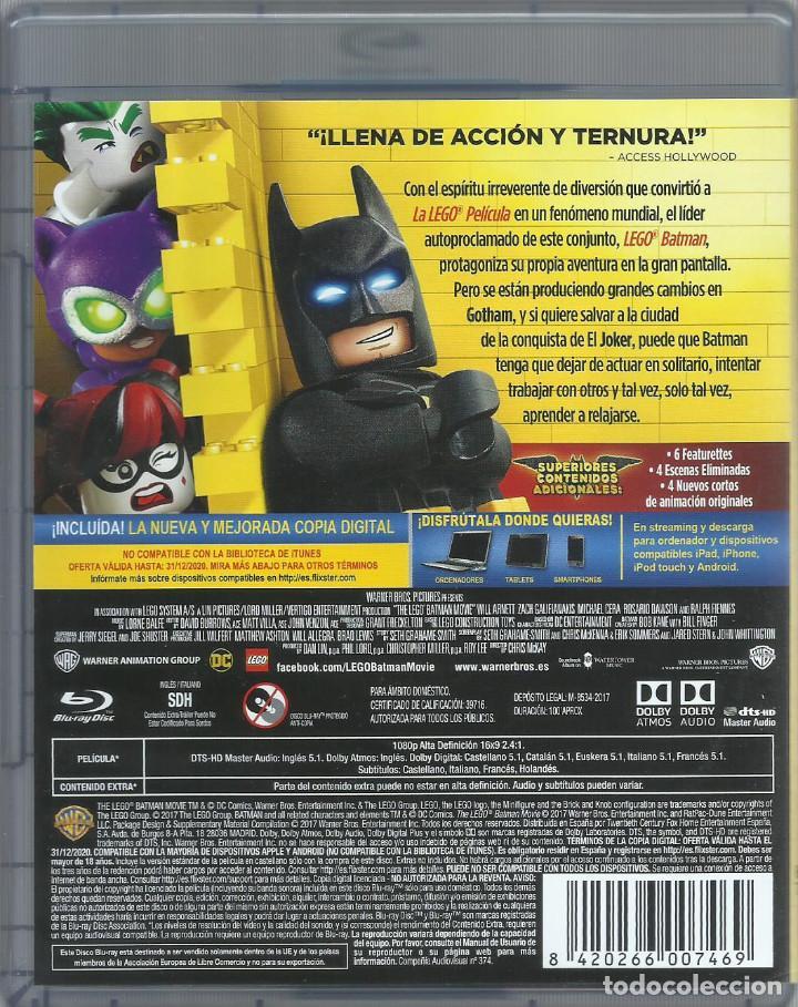 Cine: Batman: La lego película (incl. codigo de descarga digital) - Foto 2 - 158383522