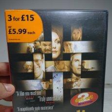 Cine: MAGNOLIA 2 DVD'S REGIÓN 2 EN INGLÉS. Lote 160419781
