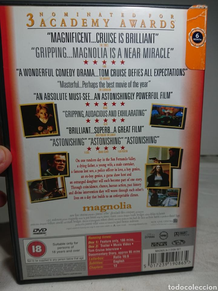 Cine: Magnolia 2 DVD's Región 2 en Inglés - Foto 2 - 160419781