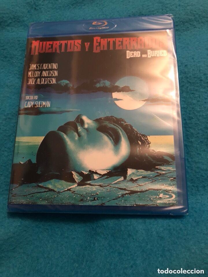 MUERTOS Y ENTERRADOS BLURAY PRECINTADO (Cine - Películas - Blu-Ray Disc)