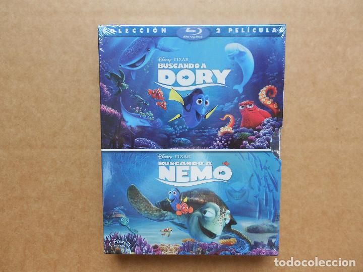 BUSCANDO A DORY Y BUSCANDO A NEMO - 2 DISCOS BLU RAY - PRECINTADO - NUEVO (Cine - Películas - Blu-Ray Disc)