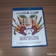 Cine: LA MALDICION DE LA REINA DRAGON BLU-RAY DISC CHARLIE CHAN NUEVO PRECINTADO. Lote 161102910