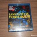 Cine: LA MALDICION DE FRANKENSTEIN BLU-RAY DISC TERENCE FISHER PETER CUSHING CHISTOPHER LEE PRECINTADO. Lote 161301802