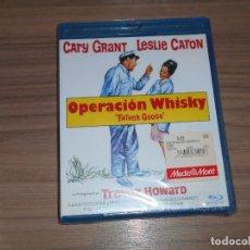 Cinema: OPERACION WHISKY BLU-RAY DISC CARY GRANT LESLIE CARON NUEVO PRECINTADO. Lote 209973657