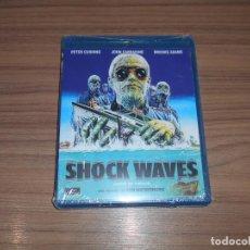 Cine: SHOCK WAVES BLU-RAY DISC PETER CUSHING JOHN CARRADINE NUEVO PRECINTADO. Lote 195177942