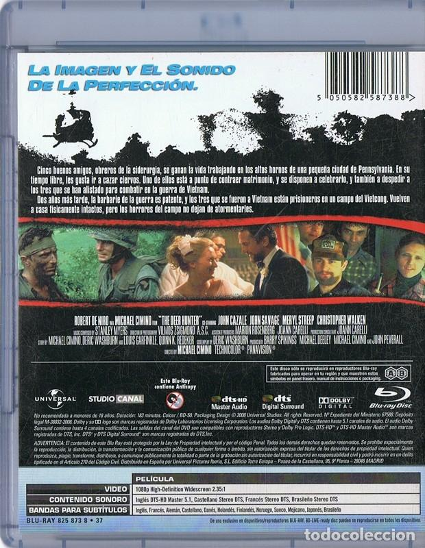 Cine: EL CAZADOR ROBERT DE NIRO (BLU - RAY) - Foto 2 - 266145918