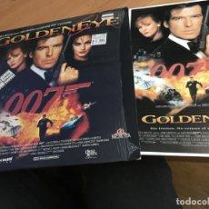 Cine: GOLDEN EYE JAMES BOND 007 LASER DISC LASERDISC CARTEL TRAILER ESPAÑA (B-1). Lote 162797182