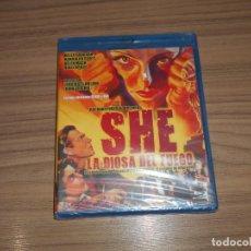 Cine: SHE LA DIOSA DE FUEGO BLU-RAY DISC RANDOLPH SCOTT NUEVO PRECINTADO. Lote 187450360