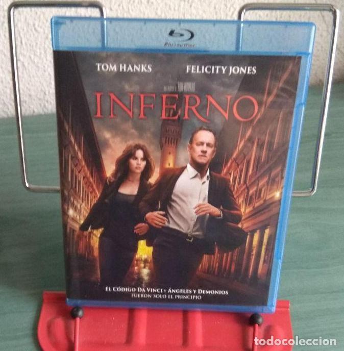 INFERNO BLU RAY (Cine - Películas - Blu-Ray Disc)