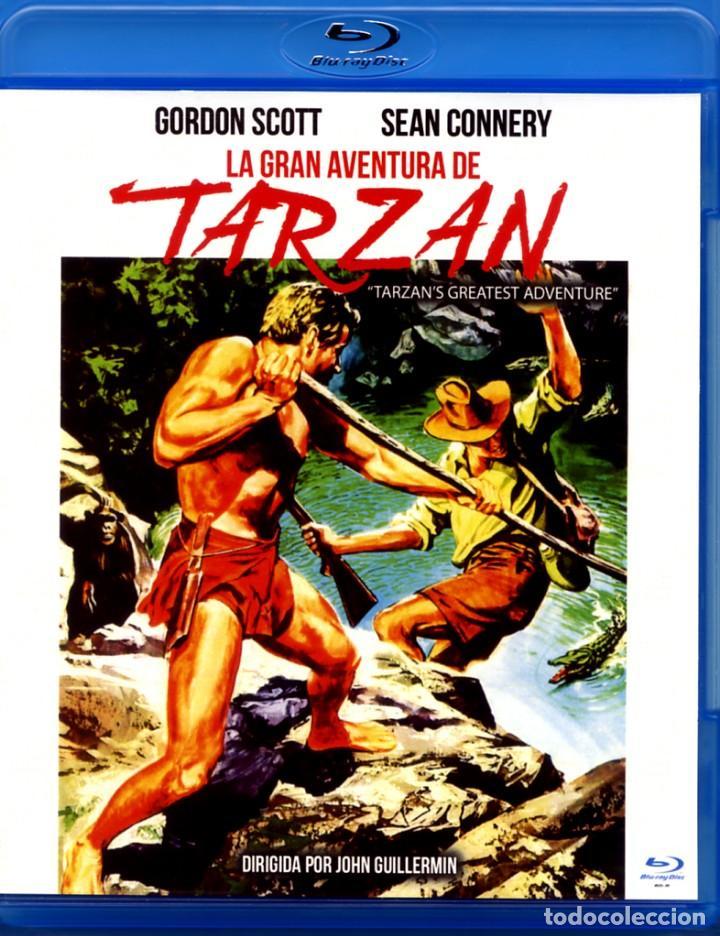 LA GRAN AVENTURA DE TARZAN BLU-RAY DISC PRECINTADO NOVEDAD GORDON SCOTT - SEAN CONNERY (Cine - Películas - Blu-Ray Disc)