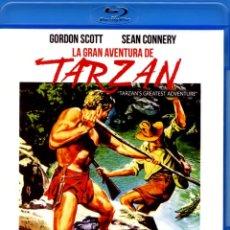 Cine: LA GRAN AVENTURA DE TARZAN BLU-RAY DISC PRECINTADO NOVEDAD GORDON SCOTT - SEAN CONNERY. Lote 221943137