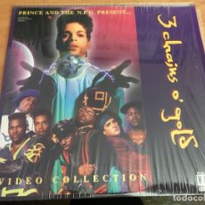 Cine: PRINCE AND THE N.P.G 3 CHAINS O' GOLD LASER DISC LASERDISC (B-2). Lote 166055022