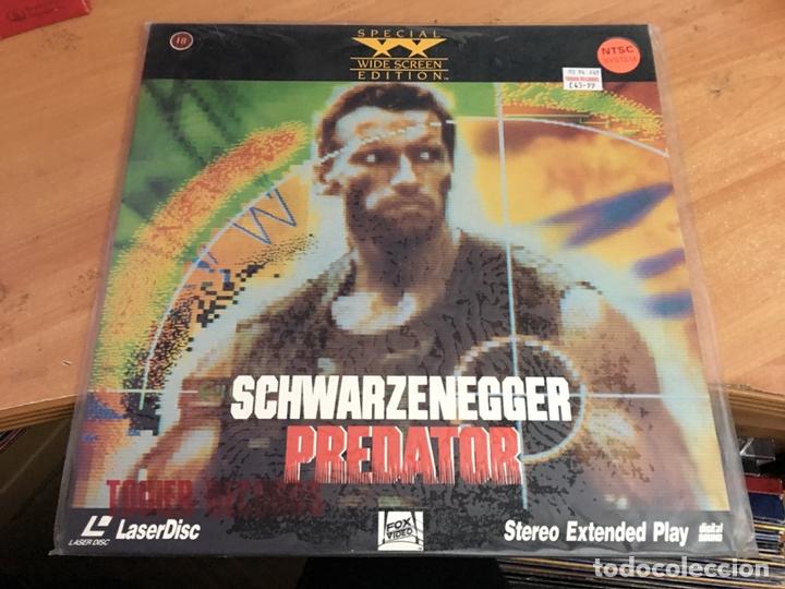PREDATOR LASER DISC LASERDISC SPECIAL WIDE SCREEN EDITION (B-2) (Cine - Películas - Blu-Ray Disc)