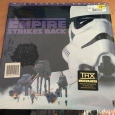 Cine: THE EMPIRE STRIKES BACK STAR WARS 2 LASERDISC LASER DISC WIDESCREEN EDITION (B-3). Lote 166725682