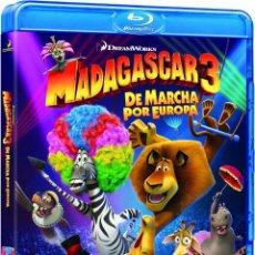 Cine: PACK 5 BLURAYS DE DIBUJOS: MADAGASCAR 3, RIO, KUNG FU PANDA 2, LLUVIA DE ALBONDIGAS 2 Y LORAX. Lote 166831194
