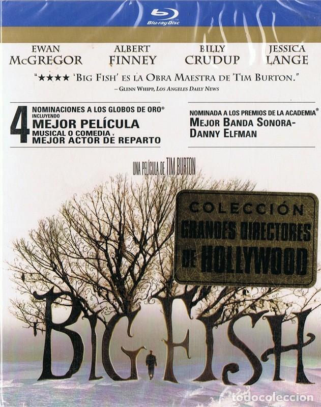 BIG FISH EWAN MCGREGOR ( BLU - RAY PRECINTADO) (Cine - Películas - Blu-Ray Disc)