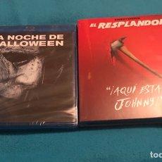 Cine: LA NOCHE DE HALLOWEEN Y EL RESPLANDOR EDICCION COLECCIONISTA BLURAYS PRECINTADOS. Lote 167070433