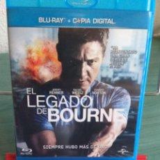 Cine: EL LEGADO DE BOURNE EN BLU RAY // PROMOCIÓN EN LOS ENVÍOS. LEER DESCRIPCIÓN. Lote 167112288