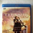 Cine: TITANIC • BLU-RAY 2D + BLU-RAY 3D (4 DISCOS). Lote 167500712
