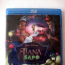 Cine: TIANA Y EL SAPO • BLU-RAY. Lote 167500992