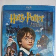 Cine: HARRY POTTER Y LA PIEDRA FILOSOFAL. DVD BLURAY ORIGINAL.. Lote 167578360