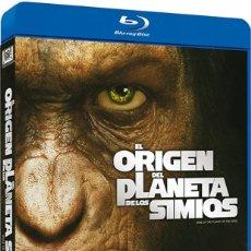 Cine: EL ORIGEN DEL PLANETA DE LOS SIMIOS BLU-RAY. Lote 168210784