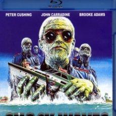 Cine: SHOCK WAVES (ONDAS DE CHOQUE) (BLURAY-DISC BD PRECINTADO) TERROR DE CULTO PETER CUSHING. Lote 187446530