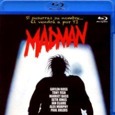 Cine: MADMAN (BLURAY-DISC BD PRECINTADO) TERROR DE CULTO. Lote 176450535