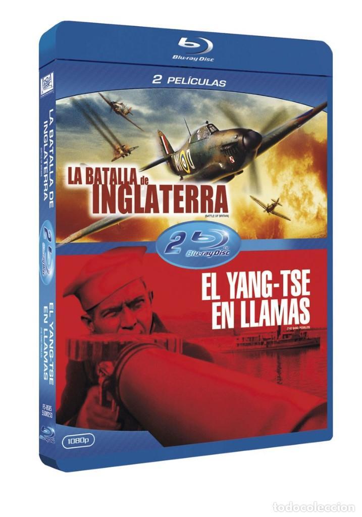 Cine: LA BATALLA DE INGLATERRA - GUY HAMILTON - BLURAY PROCEDENTE DEL PACK DE LA IMAGEN - Foto 2 - 168312972