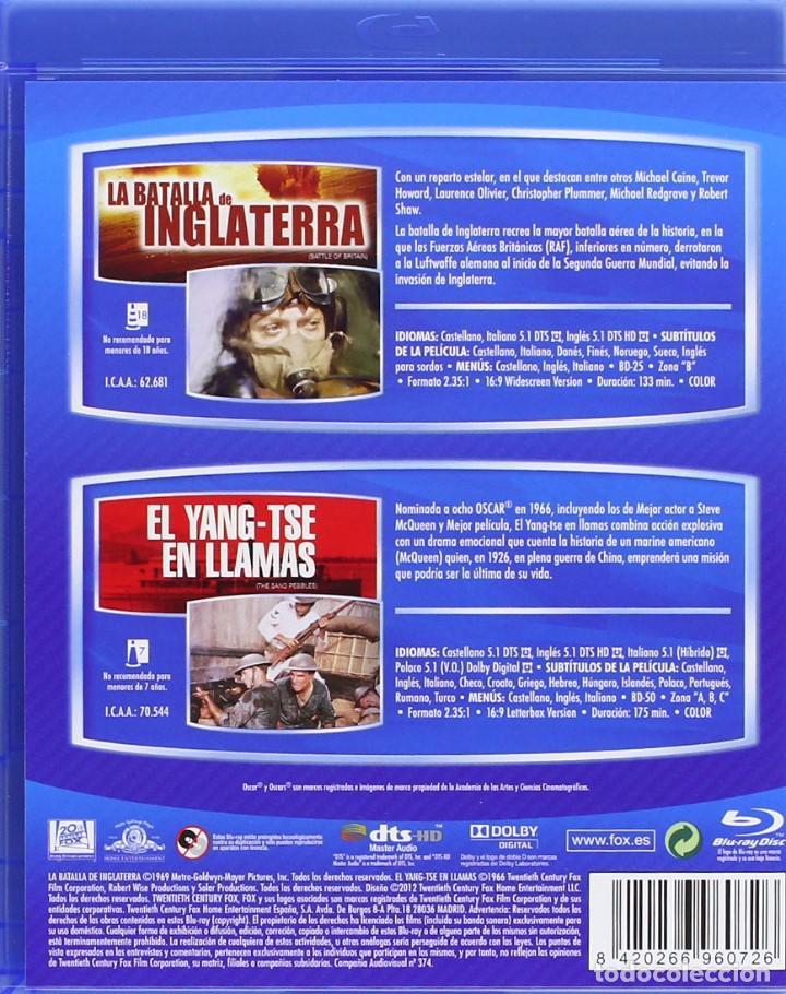 Cine: LA BATALLA DE INGLATERRA - GUY HAMILTON - BLURAY PROCEDENTE DEL PACK DE LA IMAGEN - Foto 3 - 168312972